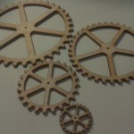 TRIANGLE CUTOUT GEARS X 4